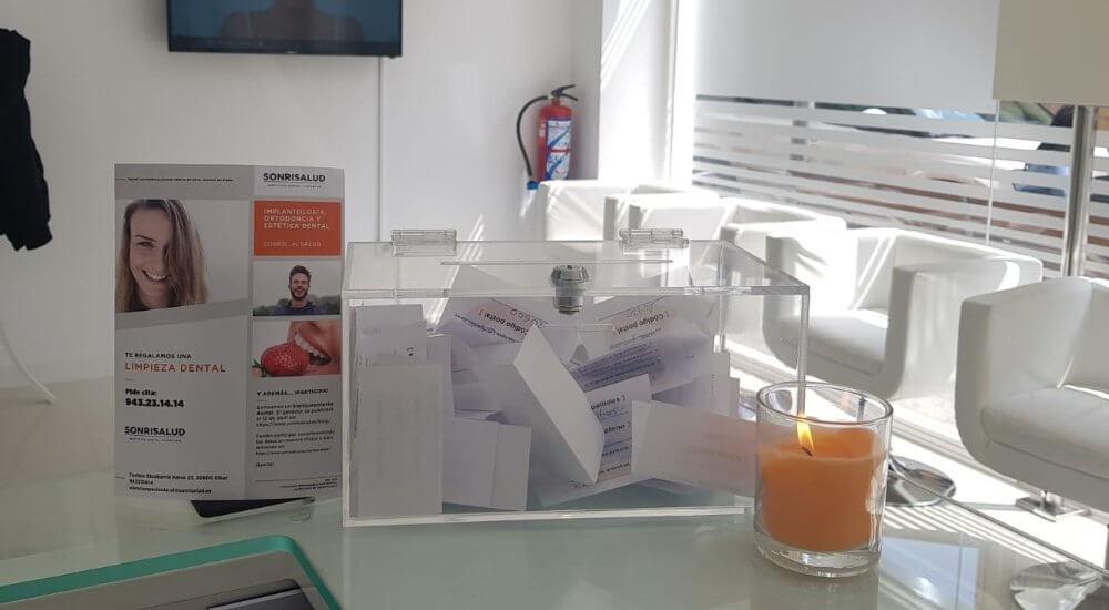 Ganador sorteo de blanqueamiento dental en Sonrisalud Eibar