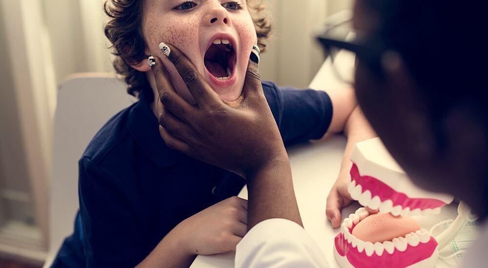 Problemas dentales comunes en niños